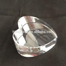 optical k9 heart shape blank crystals for laser engrave
