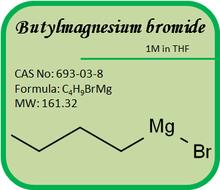 CAS No. 693-03-8 Grignard Reagents- Butylmagnesium bromide 1M in THF