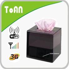 Toan TA-425WF Tissue box use at home as nanny camera hidden camera night vision wifi