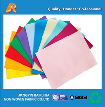 various color drawstring bags raw materials spunbond nonwoven fabric
