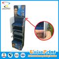 preço barato ondulado display plástico stand