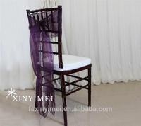 2015 modern ruffle chair sashes
