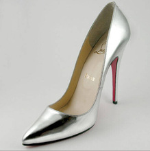 Italian patent leather young ladies pumps 8.5 to 11.5 high heel