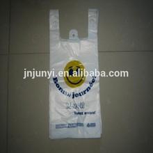 HDPE plastic backpack bag plastic for shopping