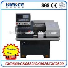 Discount 10% CK0632A Torno cnc with bar feeder
