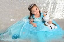 new model girls party dress kids wedding dress 2014 girls' dresses