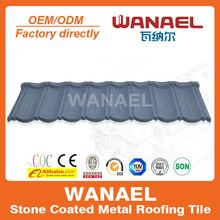 CE And Soncap Certificate China Supplies Colorful Stone Coated Metal Roof Tile