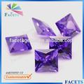 Facettes GEMS gros synthétique Zircon Violet Uncut diamants à vendre