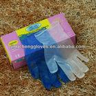 100 pcs sterile vinyl gloves/regular manufacturer/disposable non-poisonous