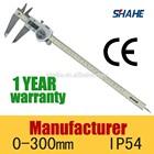 "IP54 0-300mm 12""electronic high accuracy waterproof digital vernier caliper"