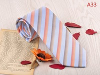 high quality striped silk neckties whole sale price