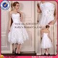 bastante corta sexy país falda desmontable vestidos de novia