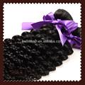 """Importação de cabelo indiano 100g/pc 24"""" não transformados cabelo brasileiro 3pcs/lot profunda onda de cabelo dos sonhos e frete grátis"""