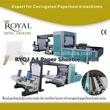 RYQJ automatic a4 size paper cutter
