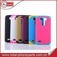 With screen protector mobile phone case for LG G3 case