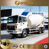 Foton 12 cubic meters six tires concrete truck capacity