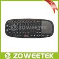 Vendita calda! Universale intelligente telecomando tv google arabo tastiera con touchpad& puntatore laser tastiera portatile trackpad
