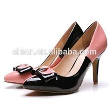Fancy girls high heel dress shoes