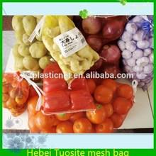 high quality PE orange mesh plastic bag