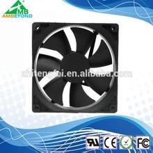strong airflow 92x92x25mm computer dc fan 12v 90mm cpu cooler fan