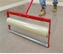 Polyethylene protective film for carpet on roll