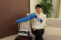 Cheap air pressure leg massager slimming beauty machine electric body massage therapy machine