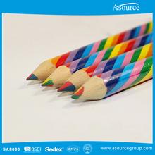 Promozione Multi- colore piombo jumboo arcobaleno matita di colore