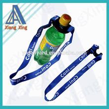 shoulder strap water bottle holder lanyard