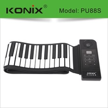 88 Keys Professional Flexible USB MIDI Roll up Electronic Piano Keyboard