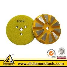 Metal Bond Diamond Velcro Backed Floor Polishing Pads