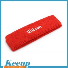 Custom promotional towel basketball football headband