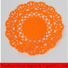 Wholesale felt round placemat for Gifts