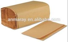 Natural Singlefold hand paper towel