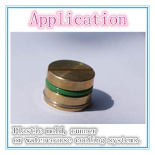 low price standard pressure plugs plastic mould component mold parts