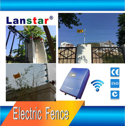 Solar control electric fencing for smart house---Lanstar