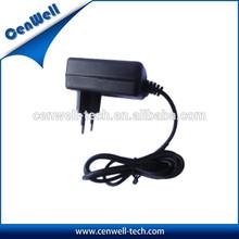 wall mounted US UK EU AU KOREA CHINA JAPAN 7V2A dc power adapter for modem