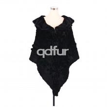A30487 Winter Women Mink Fur Triangle Tippet Ladies' Real Fur Cappa