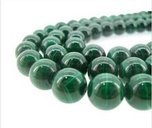 wholesale loose beaded malachite strand bead