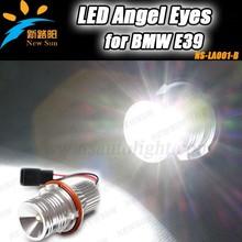 Car accessories led angel eyes light headlamp led for BMW 5w 12V 24V LED ring light for E53 E65 E87 E39 led marker angel eyes