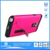 Detachable Kickstand 3d silicone cover case for samsung galaxy note 4 n9100