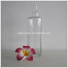White glass milk bottles infusion glass bottle