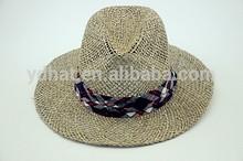 XXXL promotional seagrass straw hat