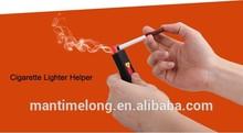 flameless cigarette lighter windproof cigarette lighter no gas/fuel