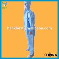 Disposable Dark Blue Safety Work Wear