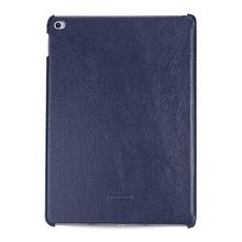 OEM Premium Leather Case for Apple iPad Air 2 -- Caen (LC: Navy Blue)