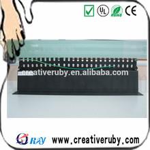 DUAL IDC CAT6/CAT 5E FTP 24 PORTS PATCH PANEL