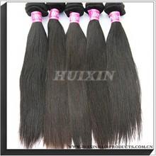 Kinky straight hair curl straight hair men and woman/ cheap straight hair weave