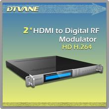 HD1080P mpeg4 hdmi to ip Modulator AV asi rf HDMI to IP modulator