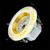 with CE RoHS factory Price home ceramic flower ceiling light LED panel 6 / 9 SMD 5630 5730 LED 3W 4W Ceramics Light Bulb