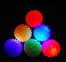 honeycomb flashing rubber bounce ball